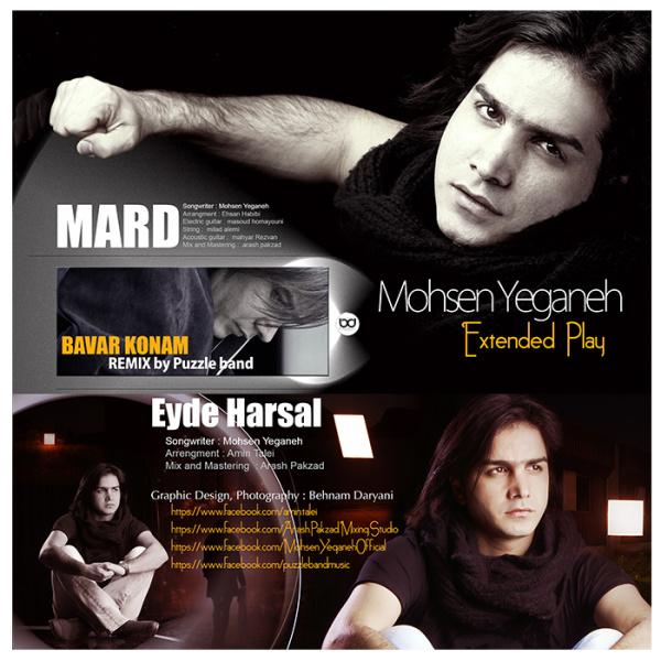 Mohsen Yeganeh - Bavar Konam ( Puzzle Band Remix )