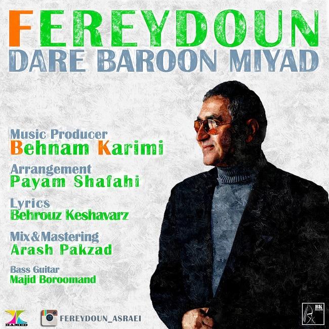 Fereydoun Asraei – Dare Baroon Miyad